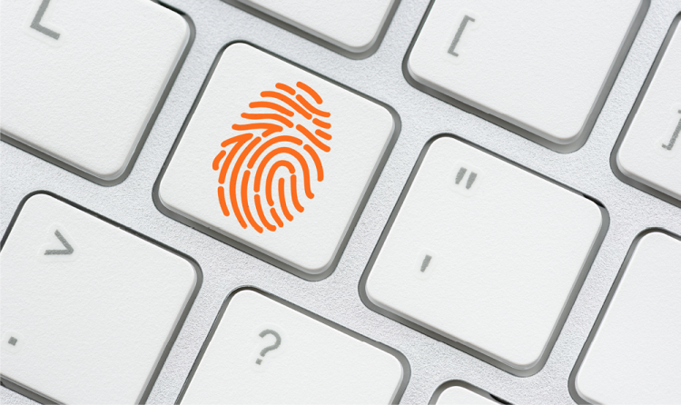 finger print identification as part of 3ds